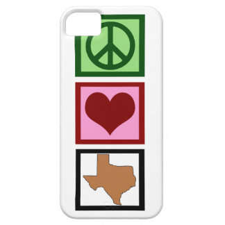 Peace Love Texas Case For The iPhone 5