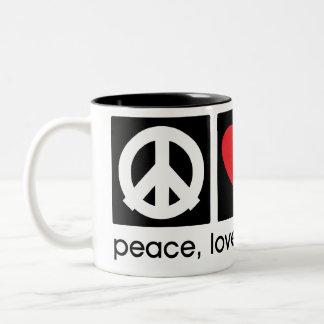 Peace, Love, Thanksgiving Mug