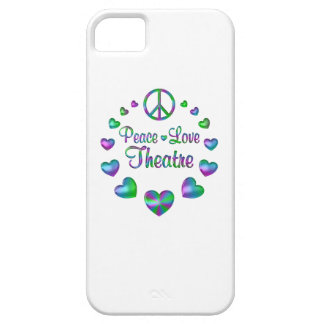 Peace Love Theatre Case For The iPhone 5