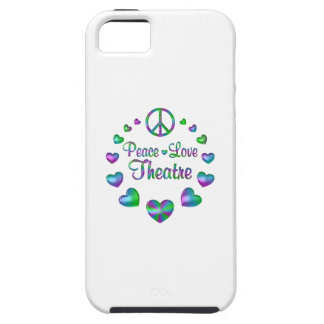 Peace Love Theatre iPhone 5 Covers