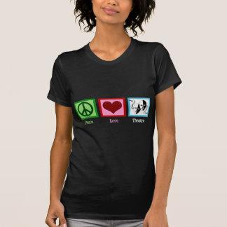 Peace Love Theatre Tshirts