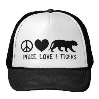 Peace, Love & Tigers Cap