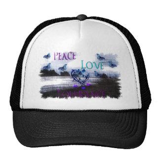 Peace Love Tolerance Mesh Hat