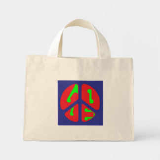 peace & love tote tote bag