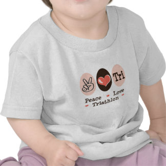 Peace Love Tri Infant Tee