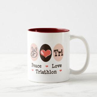 Peace Love Tri Mug