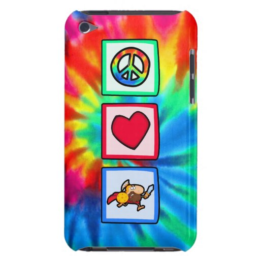 Peace, Love, Trojans Barely There iPod Covers