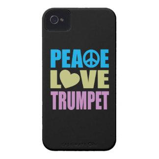 Peace Love Trumpet Case-Mate iPhone 4 Cases