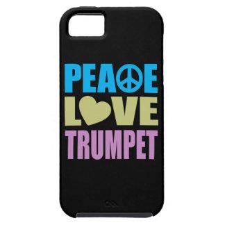 Peace Love Trumpet Tough iPhone 5 Case