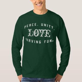 Peace Love Unity& Having Fun Shirt | Fresh Threads