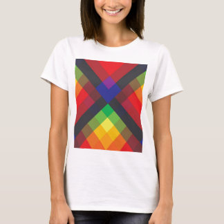 Peace, Love, Unity, Respect Abstract T-Shirt