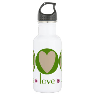 Peace Love Vegan 532 Ml Water Bottle
