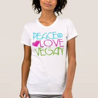 .Peace.Love.Vegan. T-Shirt