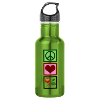 Peace Love Vegetarian 532 Ml Water Bottle