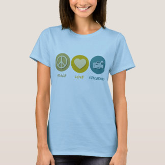 Peace Love Videography T-Shirt