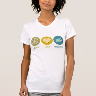 Peace Love Videography T-shirts