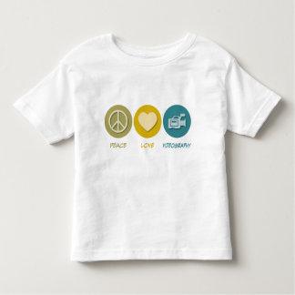 Peace Love Videography Tshirt