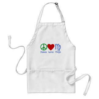 Peace Love Virgo Gifts and Products Standard Apron