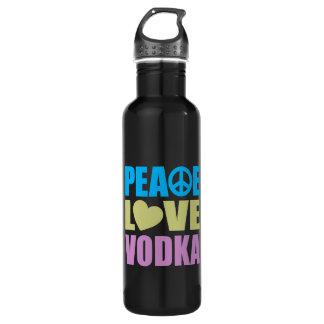 Peace Love Vodka 710 Ml Water Bottle