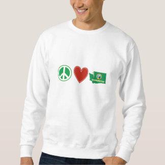 Peace Love Washington Sweatshirt