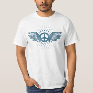Peace Love Wing Shirts