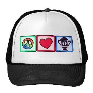 Peace, Love, Winning Trucker Hats