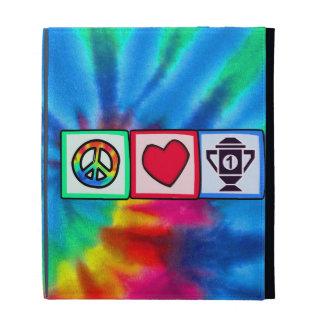 Peace, Love, Winning iPad Folio Covers
