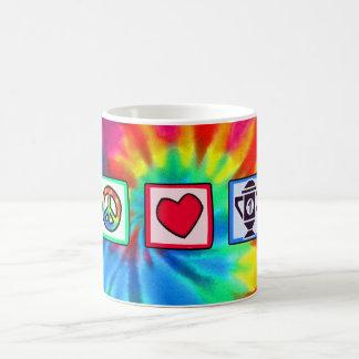 Peace, Love, Winning Coffee Mug
