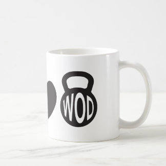 "Peace, Love, & WOD"" Mug"