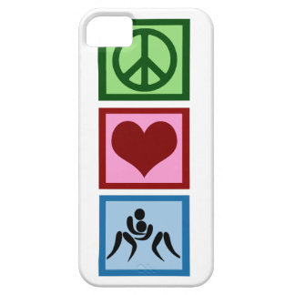 Peace Love Wrestling Barely There iPhone 5 Case
