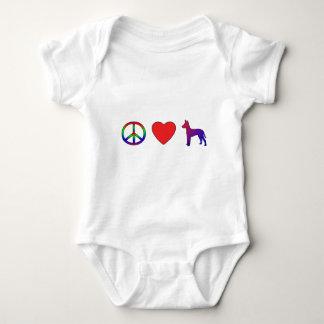 Peace Love Xoloitzcuintlis T-Shirt
