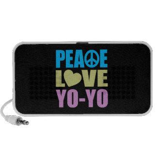Peace Love Yo-Yo iPod Speakers