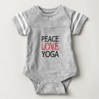 Peace Love & Yoga Baby Bodysuit