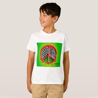Peace Love Zombie Melt T-Shirt