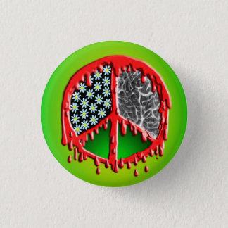Peace Love Zombiez 3 Cm Round Badge