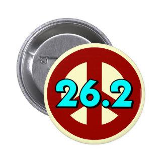 Peace marathon pins