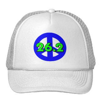 Peace marathon hats