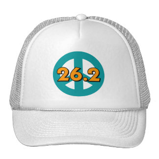 Peace marathon trucker hat