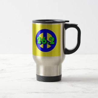 Peace marathon mug