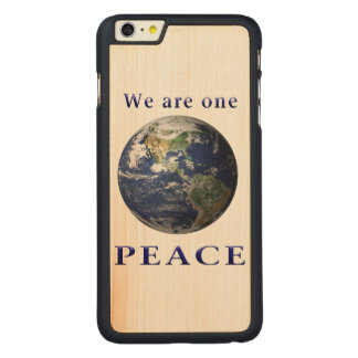 PEACE merchandise Carved® Maple iPhone 6 Plus Case