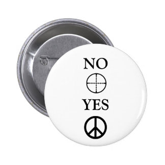 Peace Message 6 Cm Round Badge