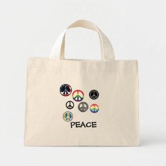 Peace Motha Mini Tote Bag