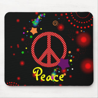 peace mouse pad
