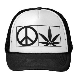 PEACE n WEED Mesh Hats