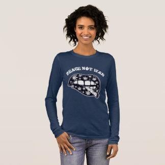 Peace Not War Smoke Long Sleeve T-Shirt