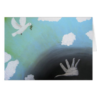 """Peace"" Note Card from Canvas Justice"