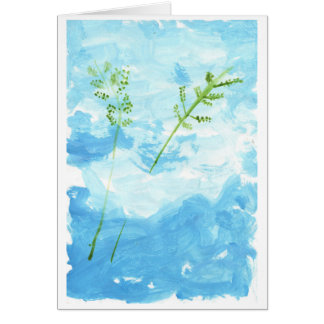 Peace note card (greeting)
