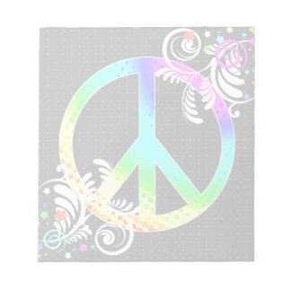 peace note pad