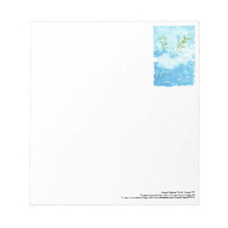 Peace notepad