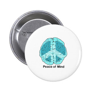 Peace of Mind 6 Cm Round Badge